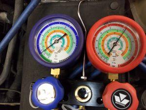 Kondicionavimo sistemos patikra azoto dujomis Servise 007