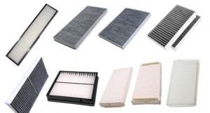 Automobilio salono filtrų įvairovė