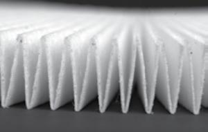 Standartinis, popierinis salono filtras