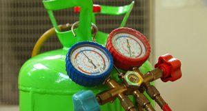 Kondicionieriaus patikra Azoto dujimis ir dideliu slėgiu Servise 007