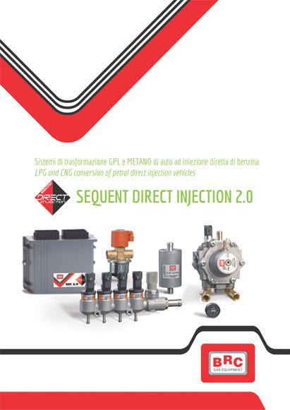 BRC Direct dujų įranga