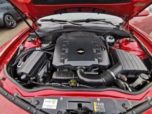 Landi Renzo Omegas Direct dujų įranga sumontuota į Chevrolet Camaro