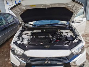 Mitsubishi Outlander 2018 Landi Renzo EVO dujų įrangos montavimas Servise 007