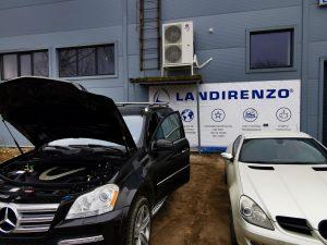 Landi Renzo dujų įranga sumontuota į MB GL550