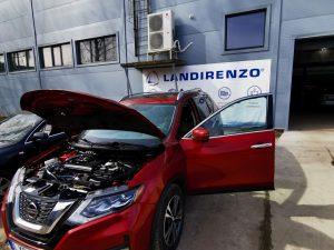 Landi Renzo Omegas dujų įrangos montavimas į Nissan Rogue 2018