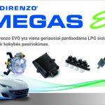 Landi Renzo EVO dujų įranga