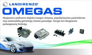 Landi Renzo Omegas dujų įranga montuojama Servise 007