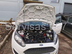 Itališkos Landi Renzo EVO dujų įrangos montavimas į Ford Fiesta 2019
