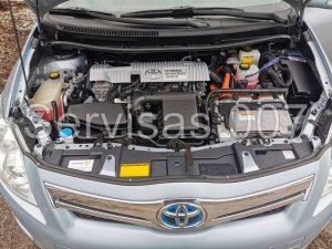 Landi Renzo EVO Itališka dujų įranga sumontuota į Hibridinį Toyota Auris 1.8
