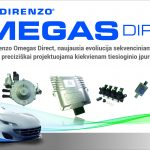 Landi Renzo Omegas Direct dujų įranga
