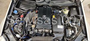 Landi Renzo EVO dujų įranga sumontuota Servise 007 į MB SLK 200