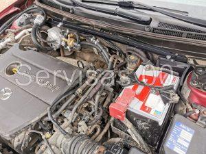 Landi Renzo Li02 Turbo dujų reduktoriaus montavimas į Mazda 6 2.0