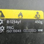 R1234yf freono pildymas Servise 007