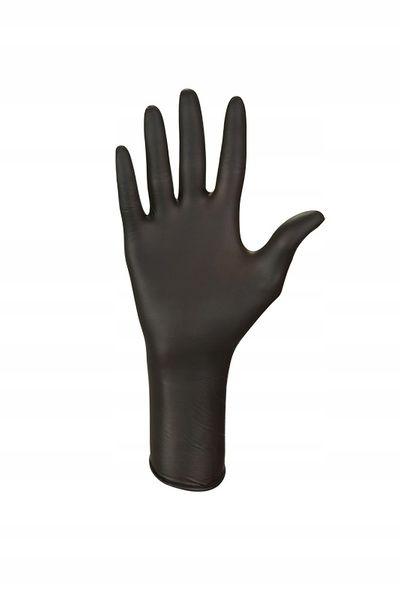 Ideall Nitrile Moto pirštinių ilga rankovė apsaugo riešą nuo cheminių medžiagų bei pažeidimų