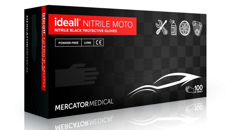 Ideal Nitrille Moto darbinės pirštinės skirtos darbui automobilių remonto srityje