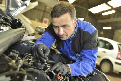 Ideall Nitrile Moto darbinės pirštinės naudojamos atliekant automobilių remonto darbus